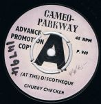 Chubby Checker At The Discotheque Cameo Parkway demo uk